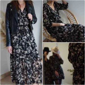 Robe longue Camille
